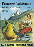 William aux oeufs 20 % vol. 70 cl.